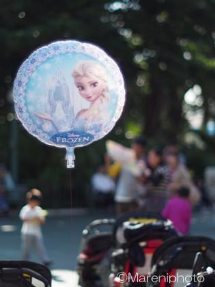 エルサの風船