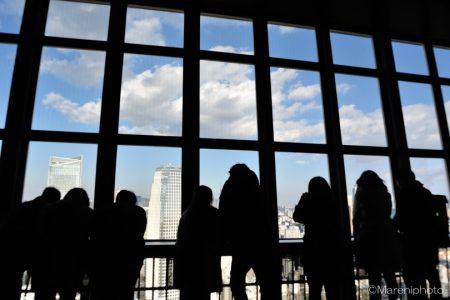 東京タワーの展望台にて