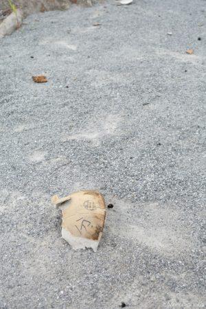 打ち上げ花火の玉殻