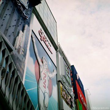 道頓堀の有名な看板