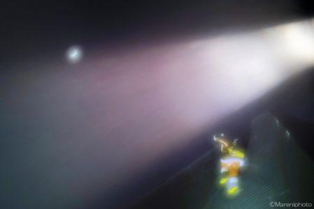 月とサンタクロスロース