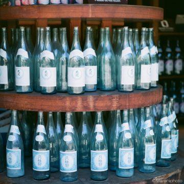沢山の一升瓶