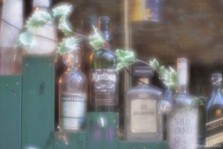 酒瓶の装飾