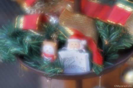 サンタの飾り物