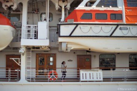 客船の乗客