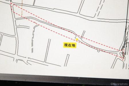道路工事の看板