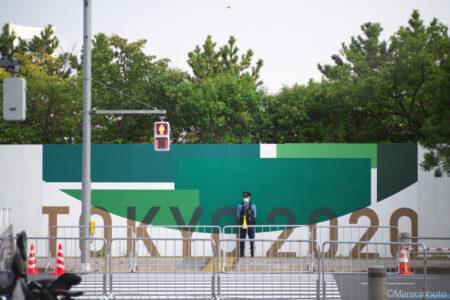 TOKYO2020 お台場トライアスロン会場周辺