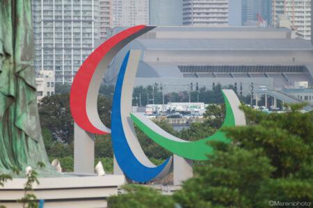 TOKYO2020パラリンピックマークのオブジェ